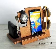 personalized men gift,docking station for men,gift for men,iphine docking station,christmas gift for men,iphome,groomsmen gift,wood gift