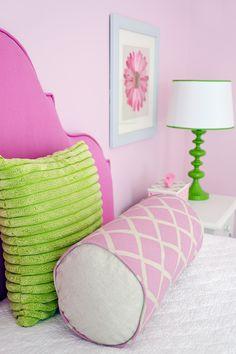 Girls bedroom  Pink bedroom  JWS Interiors  www.jws-interiors.com  Affordable Luxury blog