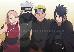 Team 7 (without Sai: why do they always exclude him, he was still part of team seven for quite a bit of time)