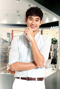 Kim Soo Hyun for Lotte Fitin
