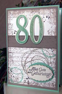 Papier, Stempel & Co: zum 80. Geburtstag