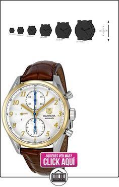 TAG Heuer CAS2150.FC6291 - Reloj de hombre automático blanco  ✿ Relojes para hombre - (Lujo) ✿ ▬► Ver oferta: https://comprar.io/goto/B006ZM8APY