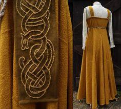 Viking Garb, Viking Dress, Viking Costume, Viking Tunic, Norse Clothing, Historical Clothing, Renaissance Clothing, Renaissance Fair, Lagertha