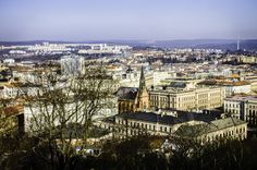 The city of Brno.