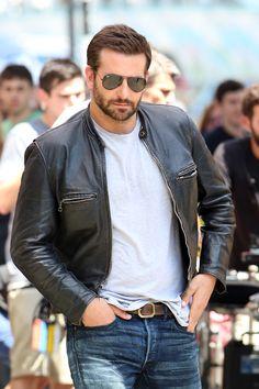 "HE IS SO SEXY. I can't. ""Bradley Cooper seen on the set of Adam Jones on July 30, 2014 in London, England. -Cosmopolitan.com"""