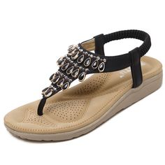 >> Click to Buy << SIKETU Rhinestone Bling Ankle Strap Woman Wedge Sandals 2017 Summer Vacation Beach Seaside Platform Size 35-41 Sweet Shoes Women #Affiliate