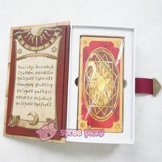 Cardcaptor Sakura The Clow Card with Magic Book Case SP152387 - SpreePicky  - 2