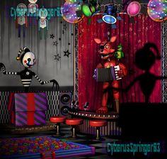 (SPOILERS!) Pirate Cove!-FNaF6 (Edit) by CyberusSpringer03