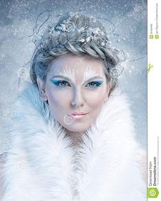 winter fantasy makeup - Buscar con Google