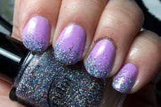Color Club Wicker Park With Glitter Gradient