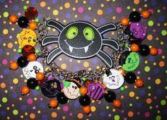 Halloween Bracelet Costume Party Charm Bracelet Halloween by Jynxx