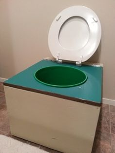 How to Build a Composting Toilet Barrel System | DiY & Craft Ideas ...