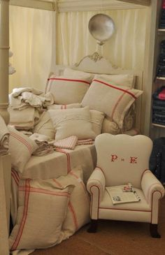 Authentica Classics Facebook Album ~ Lovely Mix of Pillows, Bedding and Upholstery    by: Home Building Show.co.uk