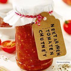 ALDI Nord - Rezept - Nektarinen-Tomaten-Chutney