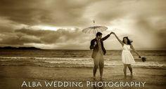Rainy Camusdarach wedding by Gavin Macqueen, Macqueen Photography and Alba Wedding Photography.