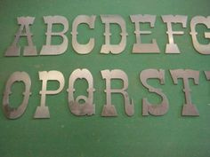 FREE-SHIPPING-10-Raw-Metal-Letters