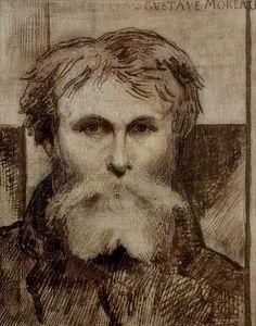 Gustave Moreau · Autoritratto · 1872 · Musée National Gustave Moreau · Paris