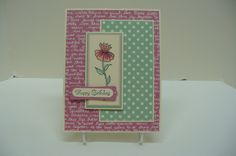 CC646 Guest Designer Sample- Mary's card