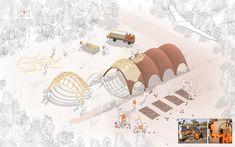 Galeria - Foster + Partners divulga proposta para aeroporto de drones em Ruanda - 4