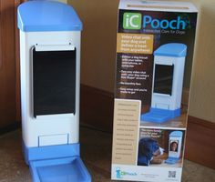 iCUPooch device eases pet separation anxiety, invented by a middle school girl!!