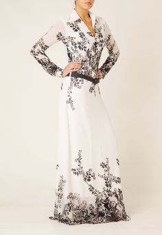Love this long sleeve maxi dress!