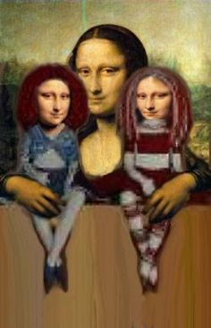 mona, lisa and lisa mona