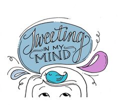 Twitter in my mind > Lettering lately