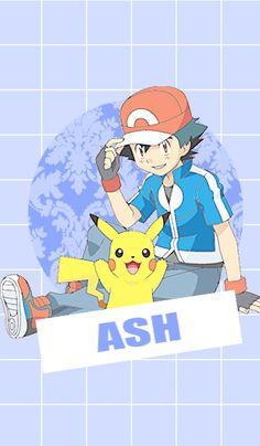 Ash and Pikachu ^.^ <3