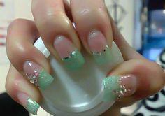 Sea Form Green & Pink ~