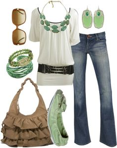 Casual with a hint of mint
