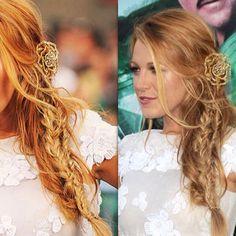Wedding hair idea, so beautiful!