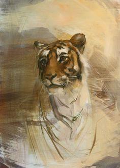 Ranthambhore Young Male by Emily Lamb