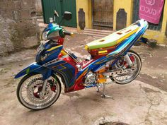 Yamaha Jupiter Z full modifikasi Thailand Look - juara kontes