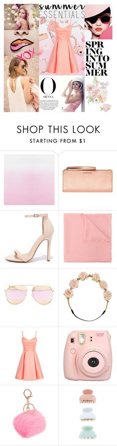 """""""Something pink"""" by savinadfx on Polyvore featuring Givenchy, Liliana, Gucci, Carole, Fujifilm, Armitage Avenue, GALA, Whiteley, New Look and Casetify"""