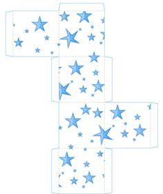 printable star box