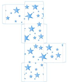 printable star box