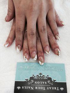 Nail Design at Treat Your Nails. #nailsalon #Atlanta #GA #nailcare #naildesign
