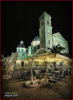(0354) Altea night  #Spain