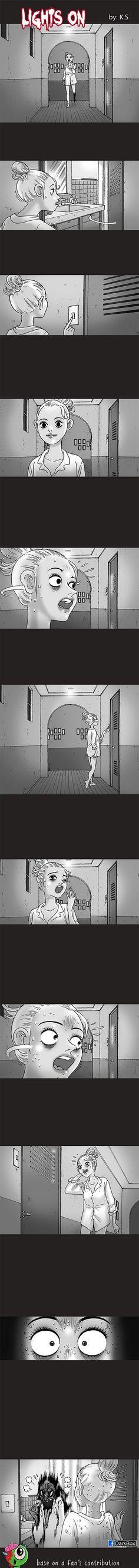 Silent Horror chap 81: Tắt đèn - bật đèn
