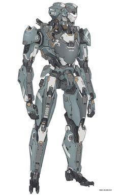 Come here if you have a mecha addiction, or you want to have a mecha addiction ^_^. Robot Concept Art, Armor Concept, Armadura Sci Fi, Science Fiction, Mode Cyberpunk, Arte Robot, Futuristic Armour, Cool Robots, Sci Fi Armor