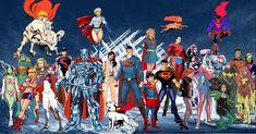 Superman Family Batgirl, Supergirl, Avengers Alliance, Superman Family, Lois Lane, Clark Kent, Comics Universe, Man Of Steel, Solitude