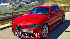 TEST DRIVE : 2017 ALFA ROMEO GIULIA QUADRIFOGLIO 510 PS (GER) l Die schö...