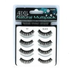 (3 Pack) ARDELL Professional Natural Multipack – 101 Black | Your #1 Source for Beauty Products