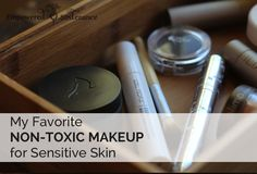 Want to avoid the toxic chemicals used in cosmetics? Here are my tried-and-true picks for non-toxic makeup for sensitive skin.