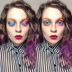 Mad Hatter. Mad Hatter makeup, Alice through the looking glass.