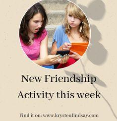 New Friendship Writing Activity! - KRYSTEN LINDSAY HAGER