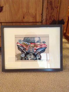 Nice Harley! My Arts, Nice, Frame, Home Decor, Homemade Home Decor, A Frame, Frames, Hoop, Decoration Home