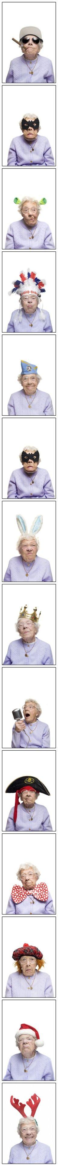 la abuela moderna jajajaj