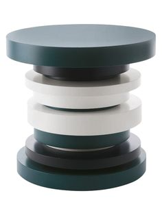 Stacked Circle End Table by Cliff Young, Ltd at Gilt