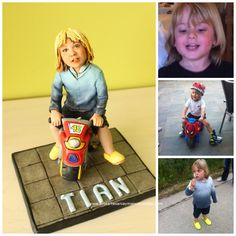 Figura personalizada niño
